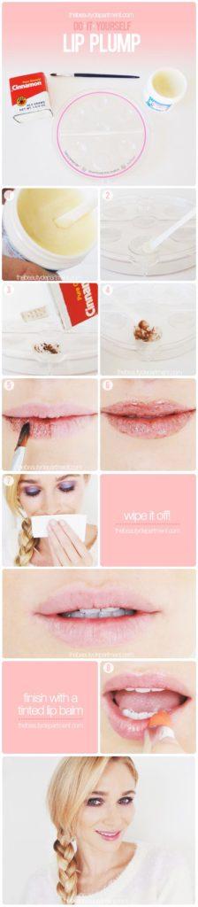 DIY Lip Plumping Scrub