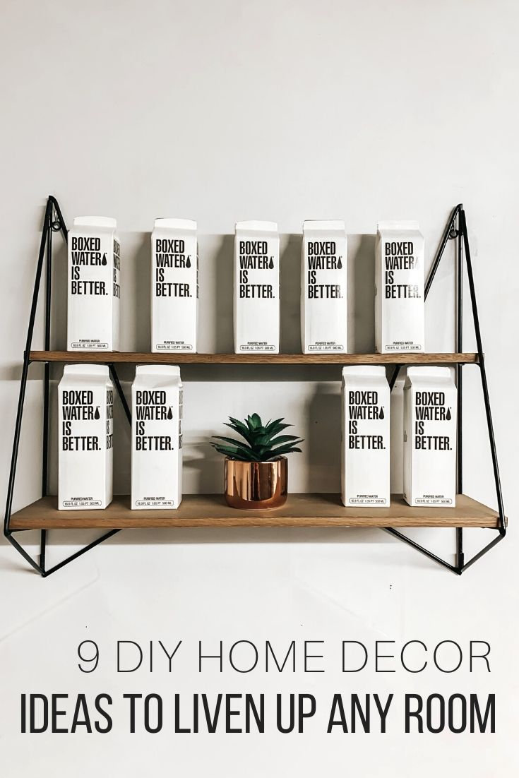 9 DIY Home Decor Ideas to Liven Up Any Room_Pin