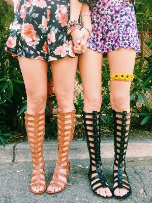 Boho fashion, Gladiator sandals, boho sandals, Coachella style, Coachella accessories, Coachella looks, Coachella fashions