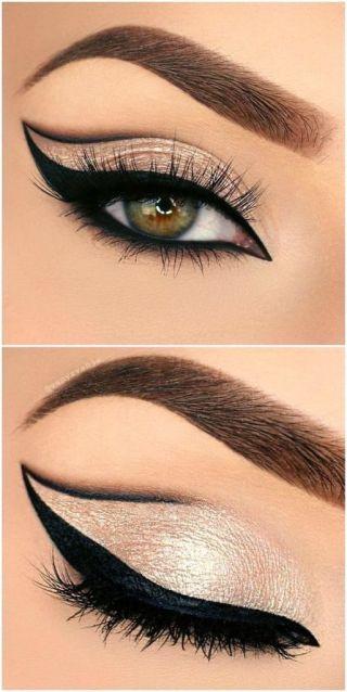 Buttery Almond eye makeup look