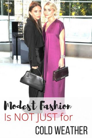 modest fashion trends Mary Kate and Ashley Olsen The Row design