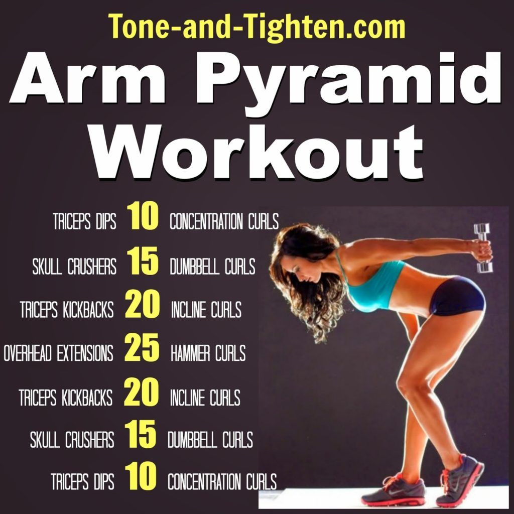 Best arm pyramid workout-exercise arms tone and tighten