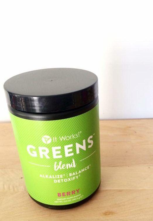 Greens bottle