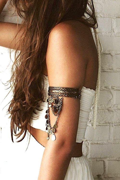 Boho accessories, Boho fashion, Arm bracelet, Ankle chain, Coachella style, Coachella accessories, Coachella fashion, Coachella jewelry