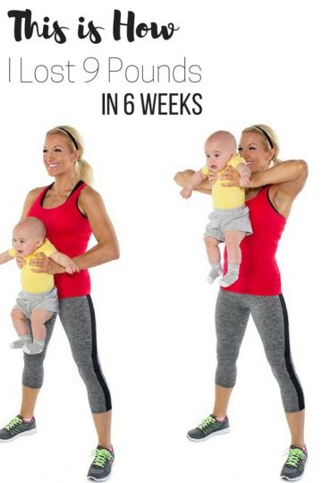 Losing baby weight after 4 pregnancies and 3 kids - episode 6. This is how I lost 9 pounds in 6 weeks following this program.