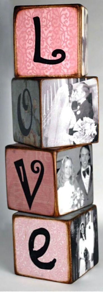 Love photo blocks