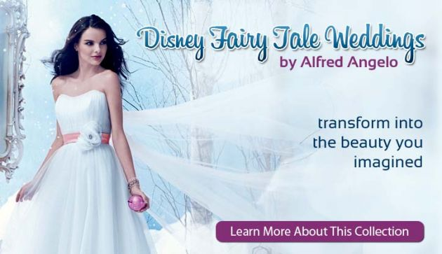 Alfred Angelo Disney wedding dresses