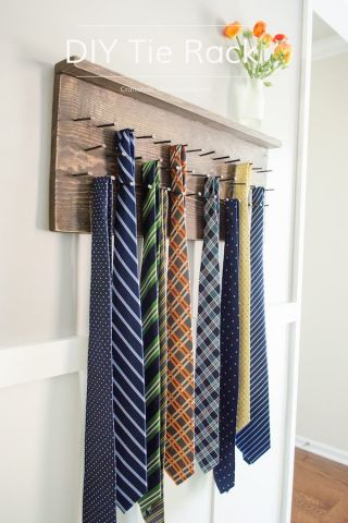 tie-rack-tutorial, fathers day gifts, dad present, gifts for fathers day