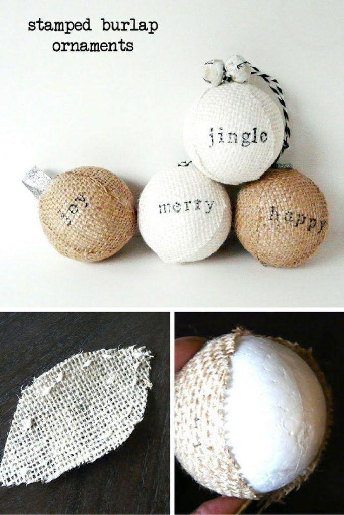 burlap-christmas-stamped-ornaments