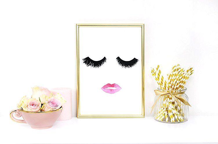 feminine-makeup-print-poster