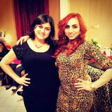 Rania 4 months after losing baby weight