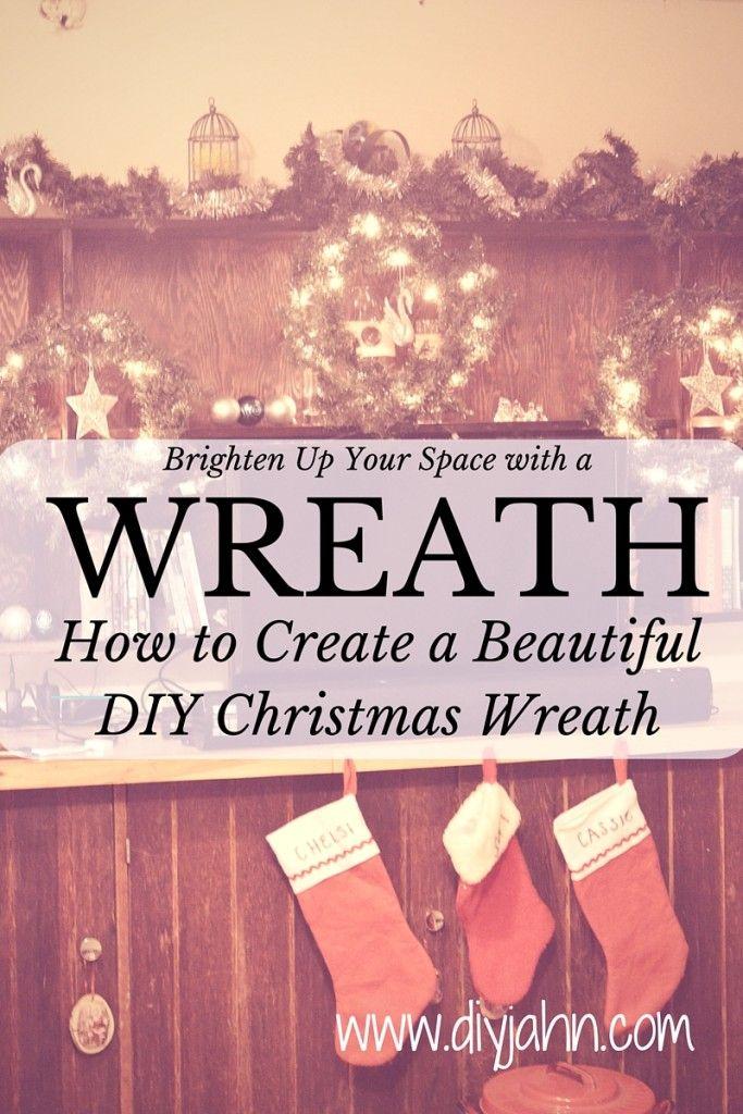 How to create a beautiful DIY Christmas Wreath