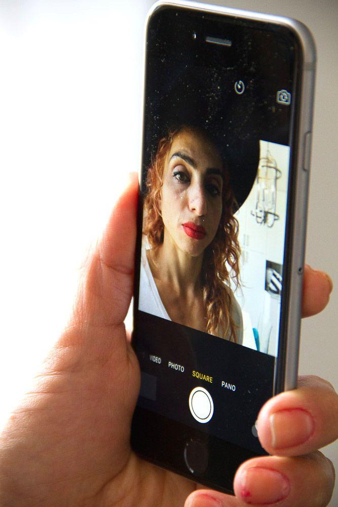 Olloclip selfie facing lense