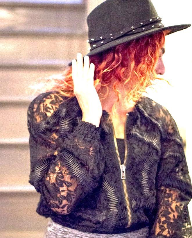 rania-with-black-studded-hat-and-black-lace-jacket