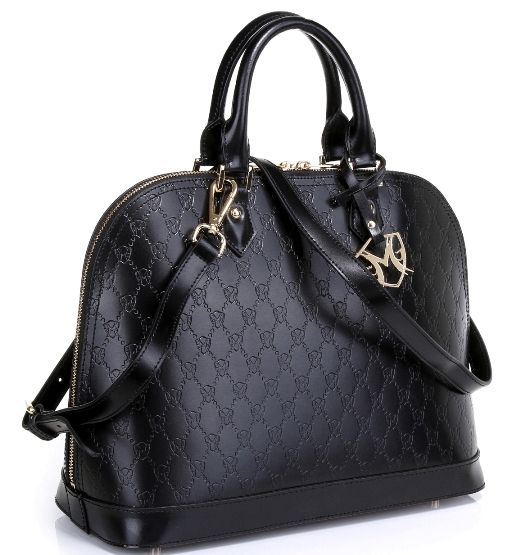 Isabelle leather embossed tote