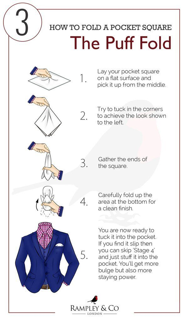 The puff fold guide