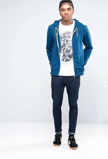 Turquoise hoodie