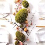 Easter moss centrepiece, Easter DIY decor, Easer decoration ideas, Easter DIY centrepiece