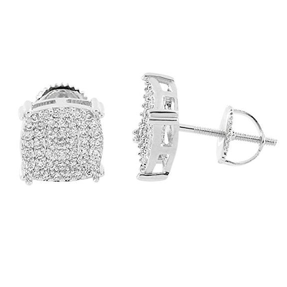 bling stud earrings